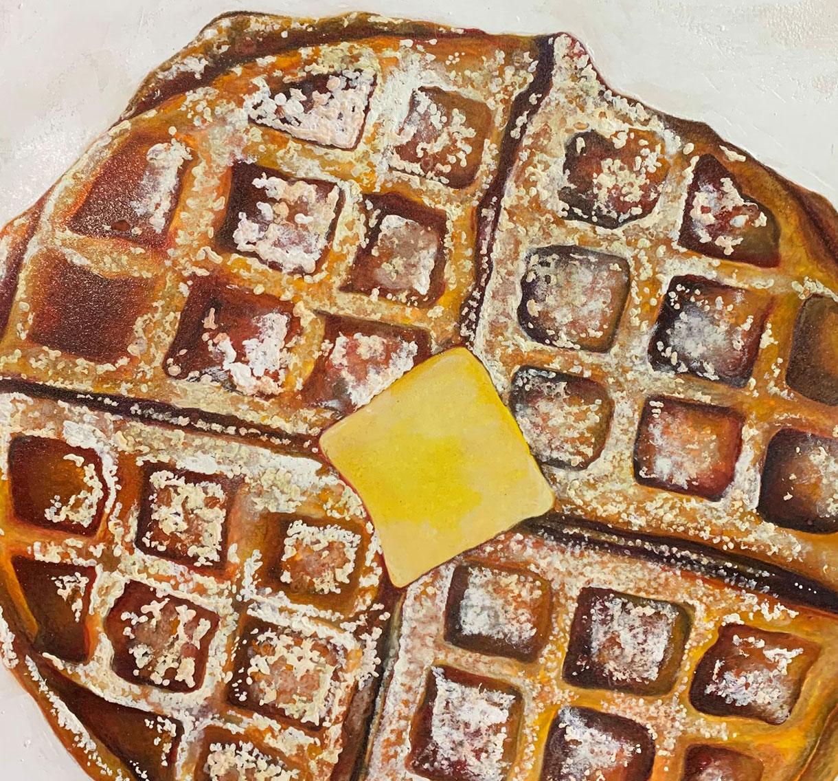 Waffle Painting