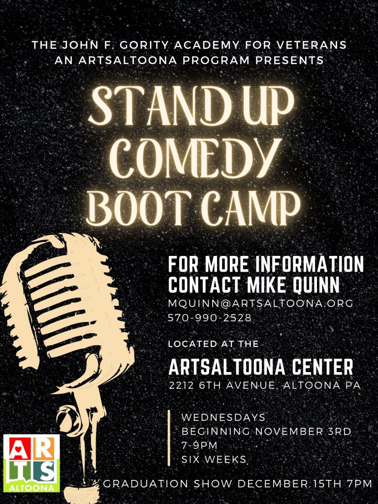 Stand Up Comedy Bootcamp Flyer